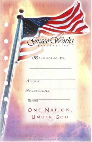 One Nation Under God Tab Set
