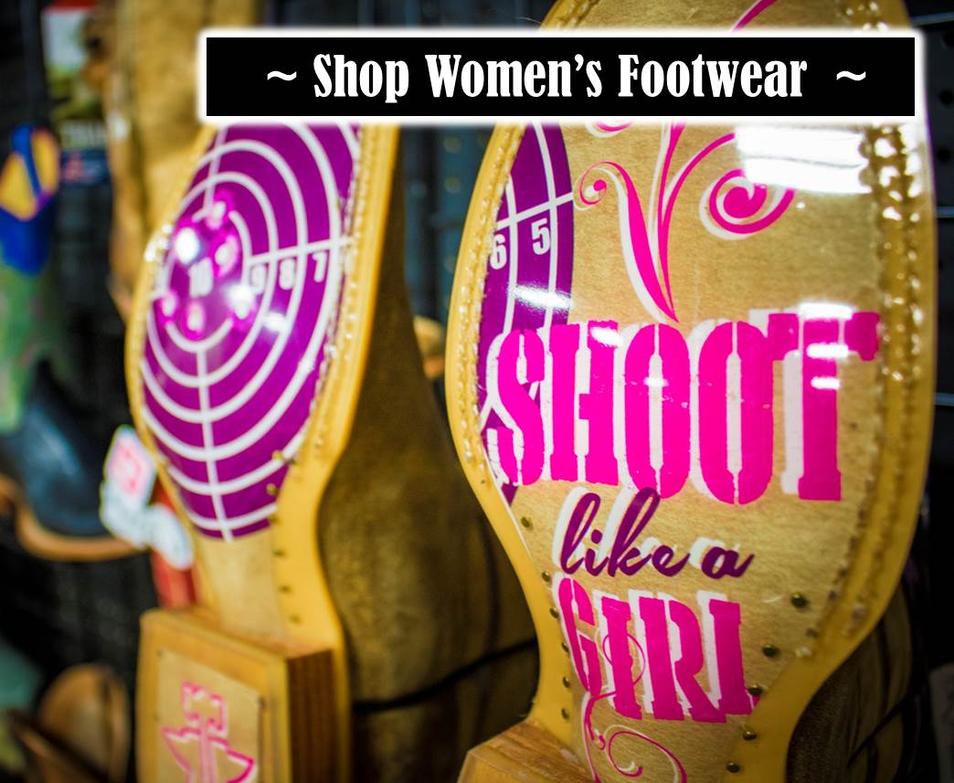 Shop Women's Footwear at Kerlin's Western and Work Wear