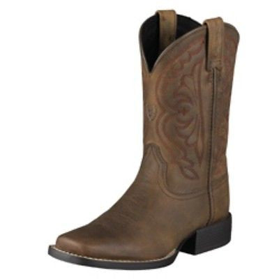 Ariat Quickdraw Boots Distressed Brown - Youth - Kerlin's Western and Work Wear