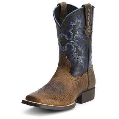 Ariat Tombstone Boots Earth And Black - Kerlin's Western and Work Wear