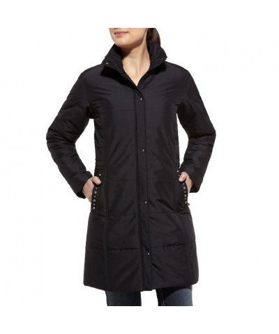 Ariat Bryant Quilted Black Coat - Kerlin's Western and Work Wear