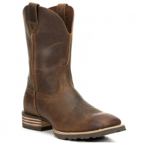 Ariat Hybrid Street Side Powder Brown Cowboy Boots - Kerlin's Western and Work Wear