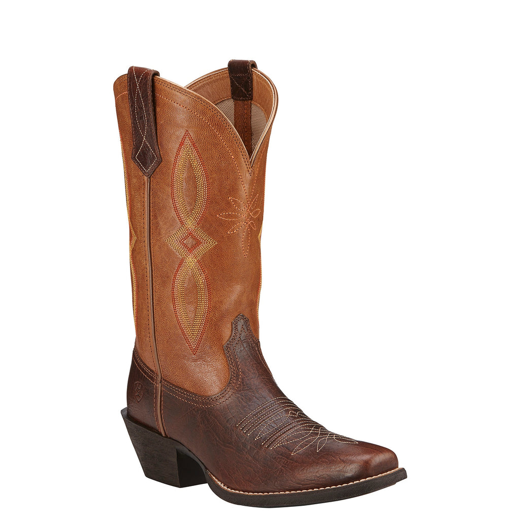 Ariat Round Up Square Toe Boots - Kerlin's Western and Work Wear