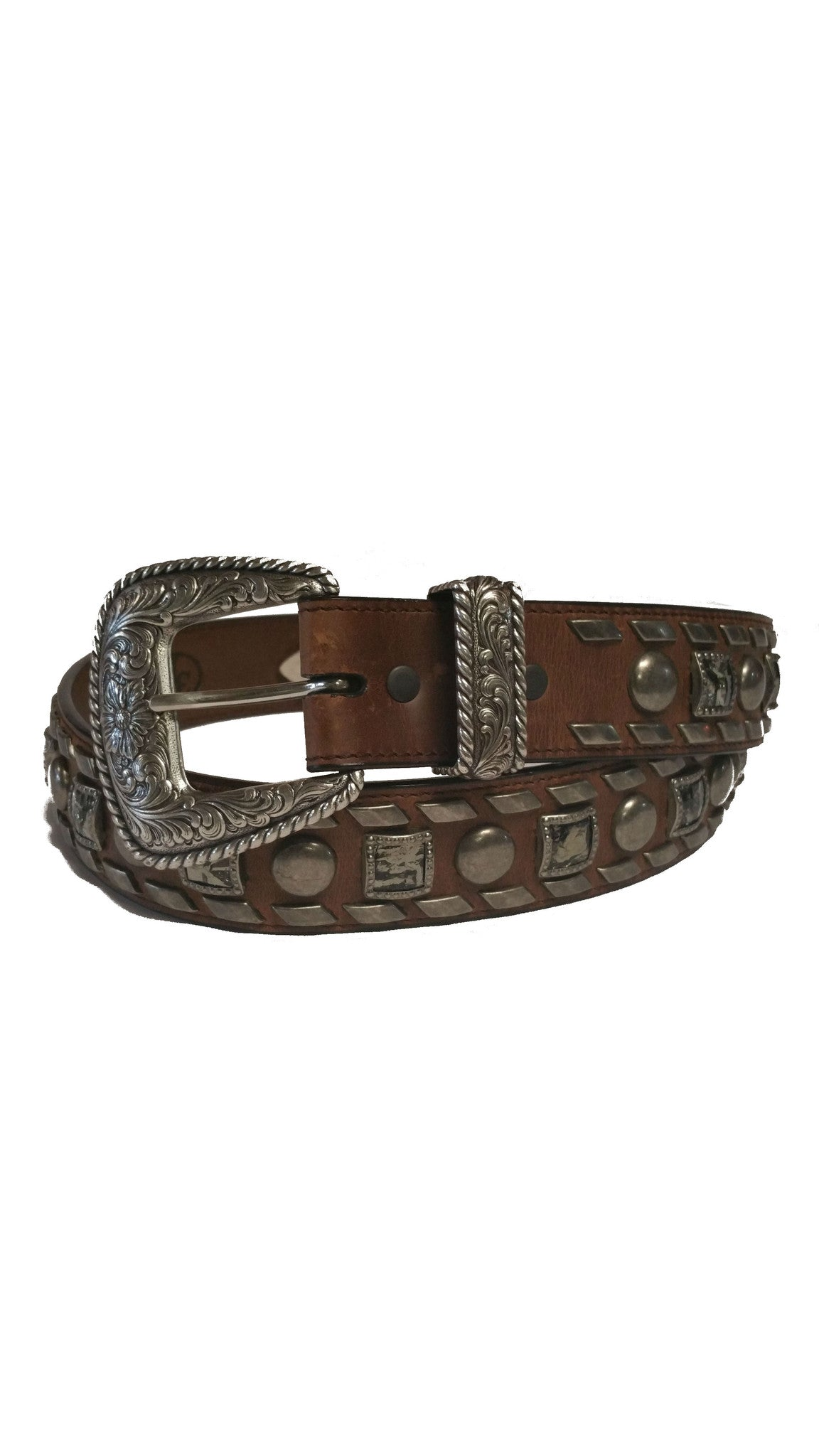 3D - Chocolate Brown Men's Western Fashion Belt - Kerlin's Western and Work Wear