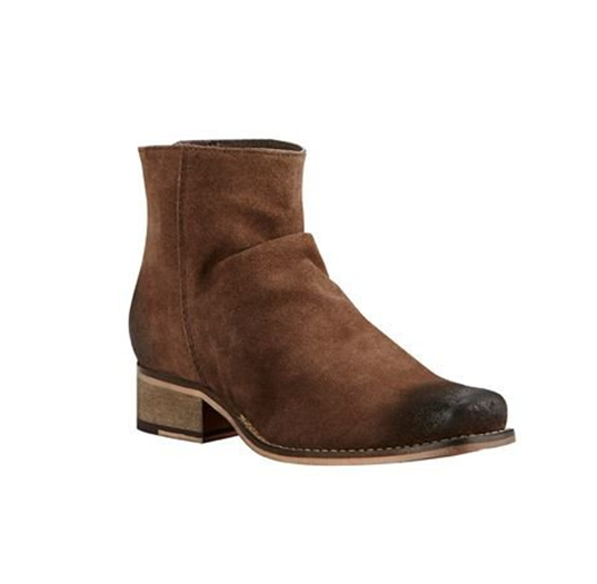 Ariat Unbridled Sloan Dark Brown Booties