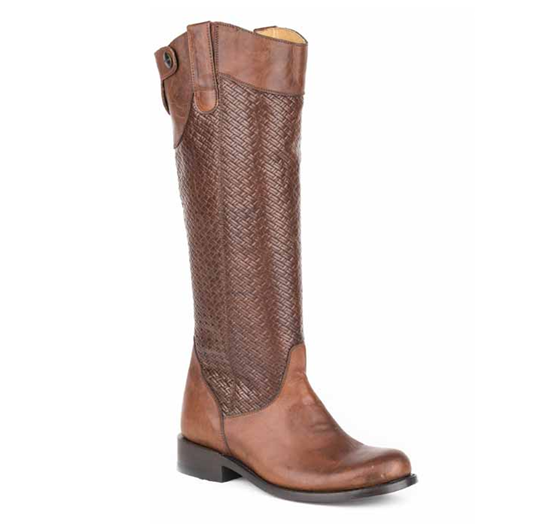 Stetson Chelsea Basket Weave Women's Tall Boot
