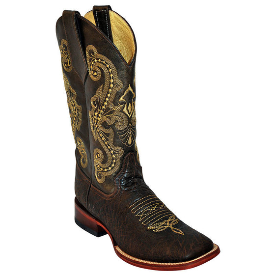 Ferrini Chocolate Acero Cowboy Boots - Kerlin's Western and Work Wear