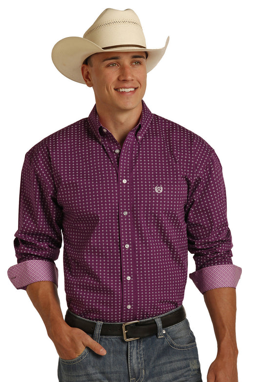 Panhandle Slim Orchid Long Sleeve Shirt
