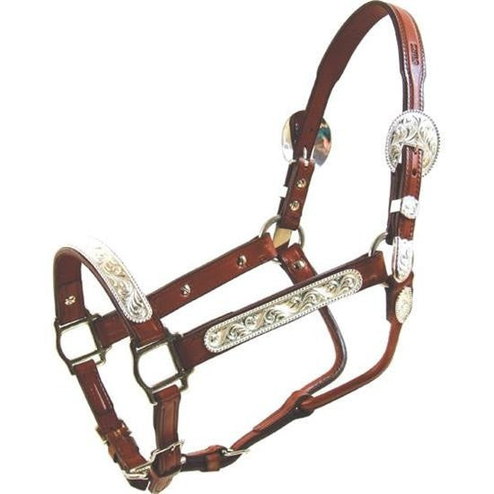 Dot Edge Yearling or Small Horse Show Halter - Kerlin's Western and Work Wear