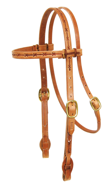 Barbwire Quick Change Headstall - Kerlin's Western and Work Wear