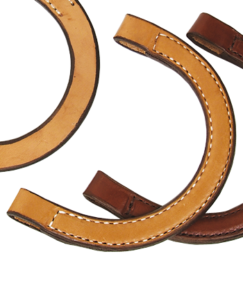 Ear Piece in Double Stitch Chestnut - Kerlin's Western and Work Wear