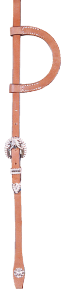 Entry Level Silver Headstall - Kerlin's Western and Work Wear