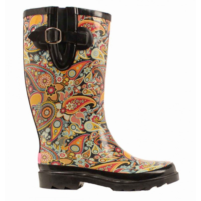 Blazin Roxx 58108 Women's Paisley Rain Boot Multi - Kerlin's Western and Work Wear