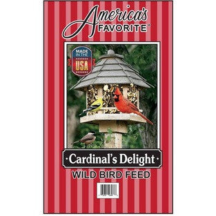 America's Favorite Cardinal's Delight Bird Feed 30# Bag