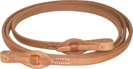Quick-Change Harness Leather Roping Reins - Kerlin's Western and Work Wear