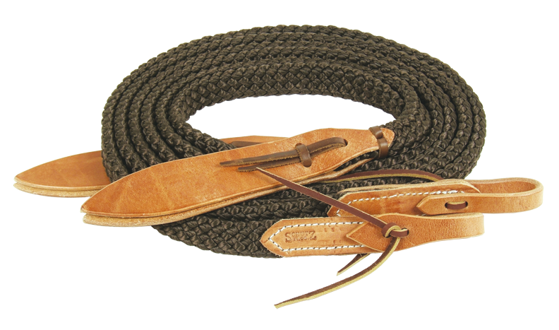 Quiet Control™ Split Reins in Black - Kerlin's Western and Work Wear