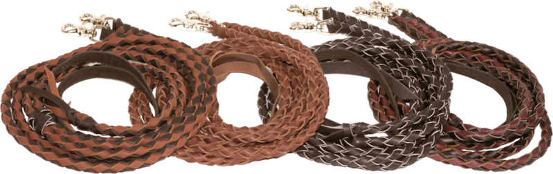 Braided Split Reins - Kerlin's Western and Work Wear