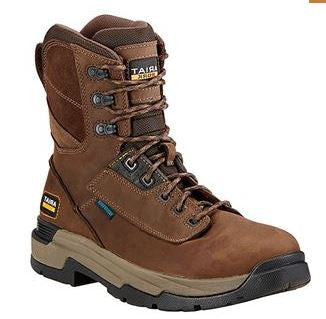 "Ariat Men's Master Grip 8"" H2O Lace Up Work Boot"
