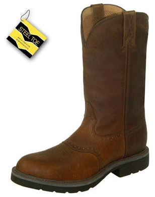"Twisted X 12"" Men's Cowboy Steel Toe Work Boot"