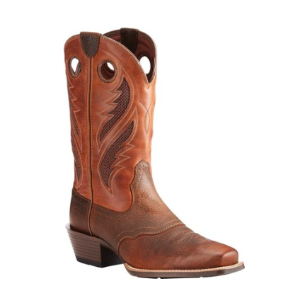 Ariat Brown Ultra Rowdy VentTEK Narrow Square