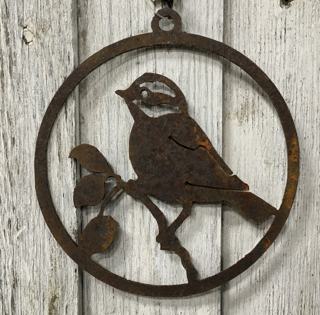 Ancient Graffiti Chickadee Ornament