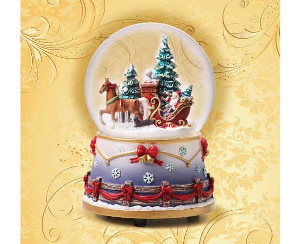 Breyer Musical Snow Globe