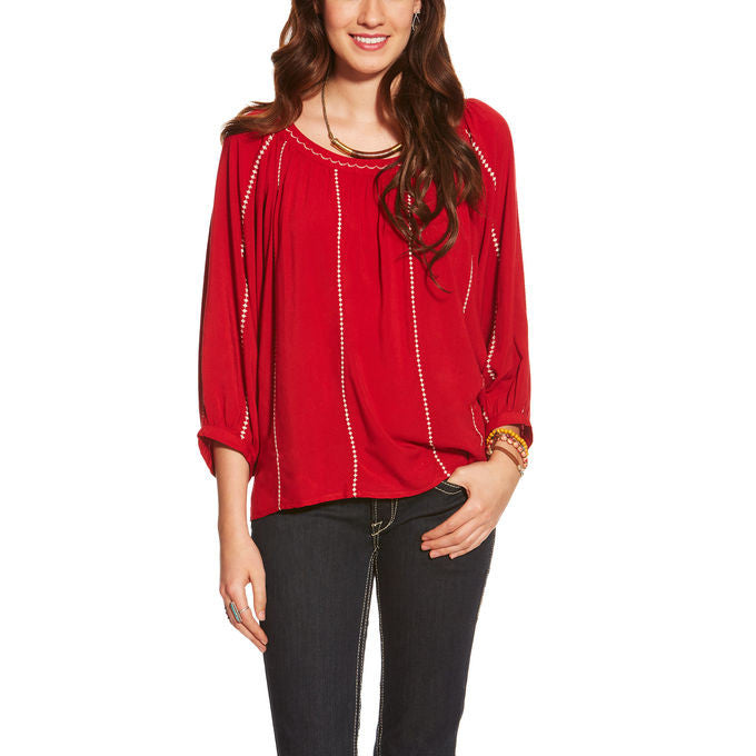 Ariat Ali Women's Rouge Red Top