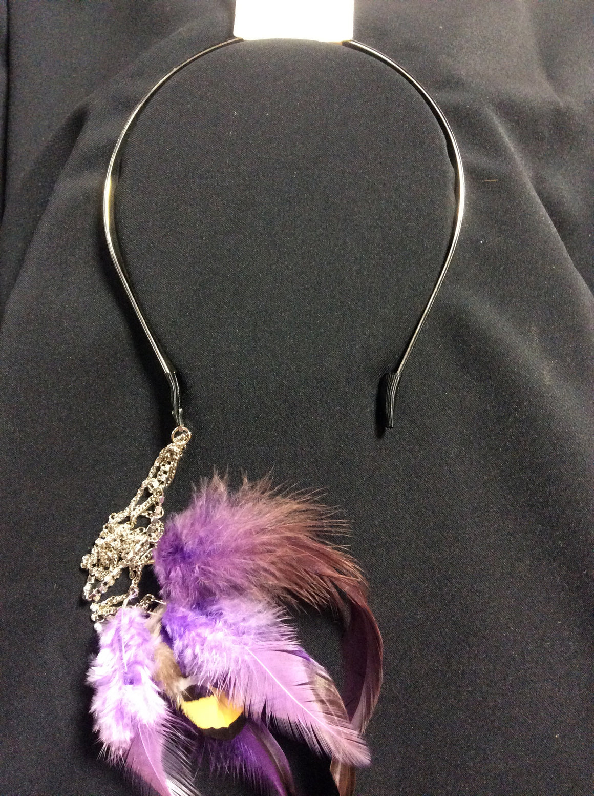 Head Band Feathered Hair Accessory - Kerlin's Western and Work Wear