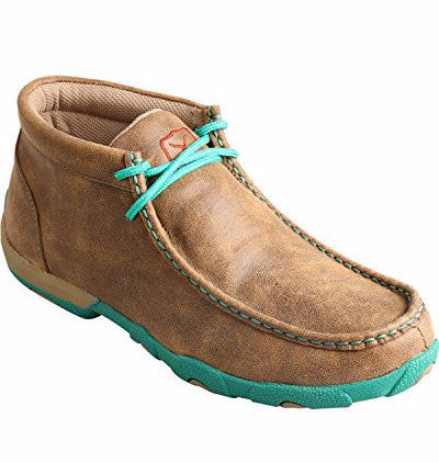 Twisted X Turquoise Driving Mocs
