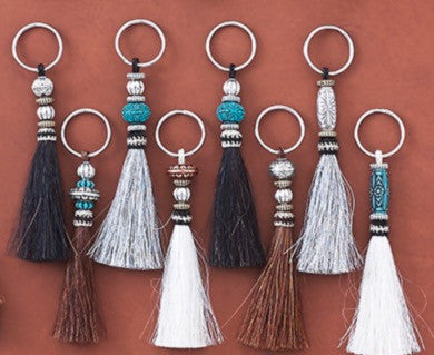 Horse Hair Key Chain