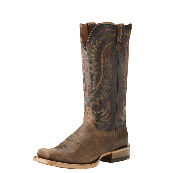 Ariat Palo Duro Smokey Cattleguard Washboard Brown Narrow Square