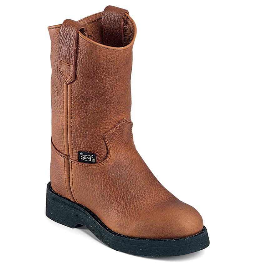 Justin Copper CapriceWork Boots - Youth - Kerlin's Western and Work Wear