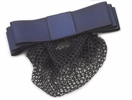 Equistar Classic Show Bow with Net. Navy. - Kerlin's Western and Work Wear