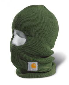 Carhartt Face Mask Army Green - Kerlin's Western and Work Wear