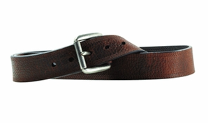 Ariat Mens Textured Triple Stitched Brown Belt - Kerlin's Western and Work Wear