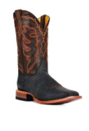 CINCH Western Boots Mens Cowboy Champion Square Toe Black Men - Kerlin's Western and Work Wear  - 2