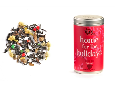 FOR TEA'S SAKE, HOME FOR HOLIDAY SPICE TEA BLEND (2.7OZ/75G) - Kerlin's Western and Work Wear  - 1