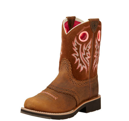 Ariat Fatbaby Cowgirl Powder Brown Youth - Kerlin's Western and Work Wear