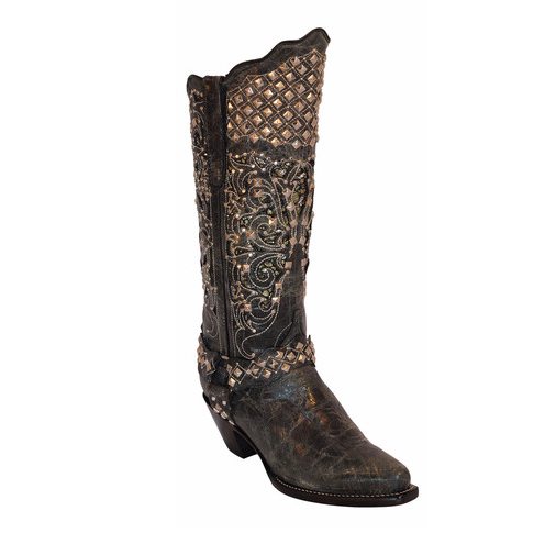 "Ferrini Women's ""Country Rebel"" Western Boots - Kerlin's Western and Work Wear"