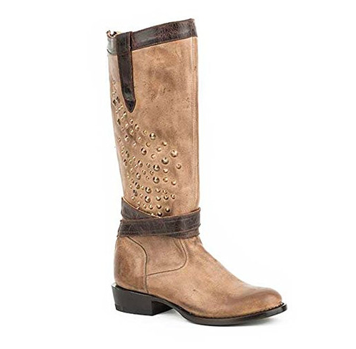 Stetson Leather Zip Up Fashion Boots - Kerlin's Western and Work Wear