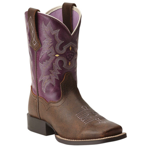 Ariat Tombstone Cross Detail - Youth - Kerlin's Western and Work Wear