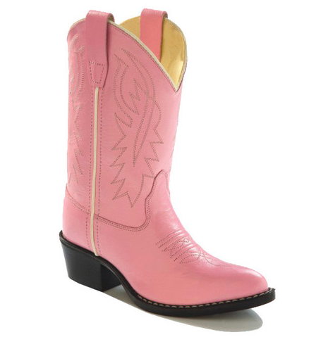 Old West Pink Western Boots - Youth - Kerlin's Western and Work Wear