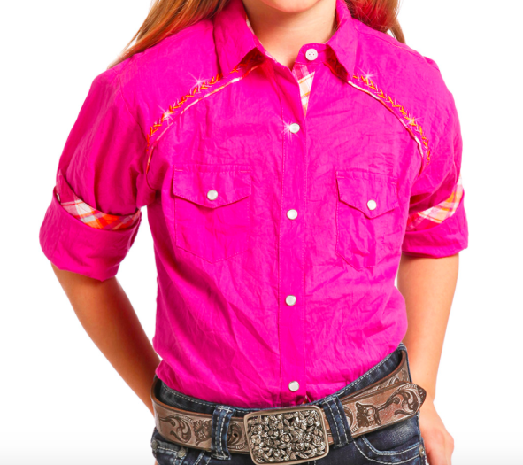 Panhandle LS Snap Girls - Kerlin's Western and Work Wear  - 1