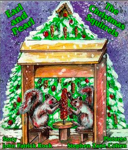 Earl and Pearl The Christmas Squirrels - Kerlin's Western and Work Wear