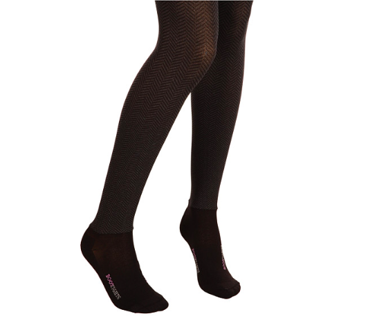 Boot Tights Opaque Sophisticated Herringbone Tight/Ankle Sock - Kerlin's Western and Work Wear