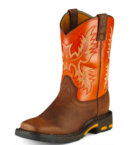 Ariat Youth Workhog Wide Square Toe Boot
