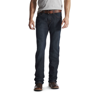 Ariat Rebar M5 Slim Straight Blackstone Jean