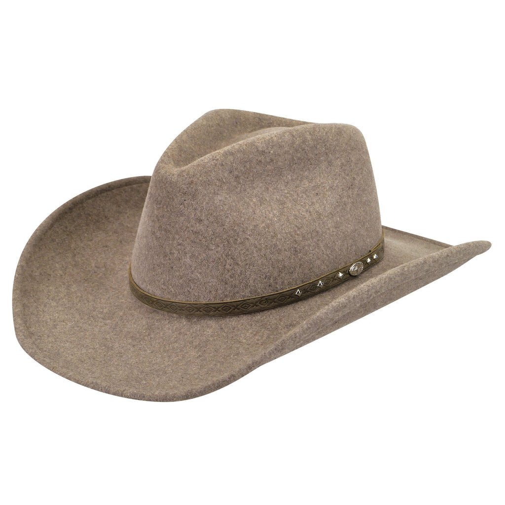 Bailey Gleeson Medium Brown Felt Hat