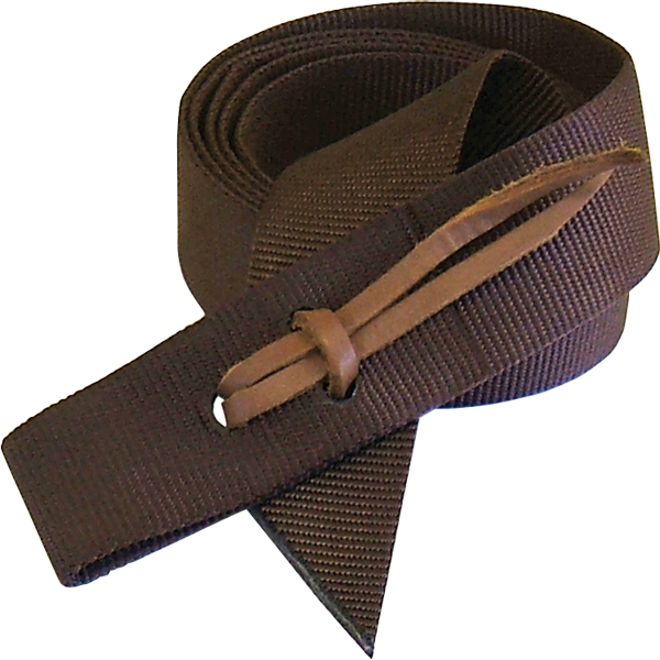 Brown Nylon Tie Strap