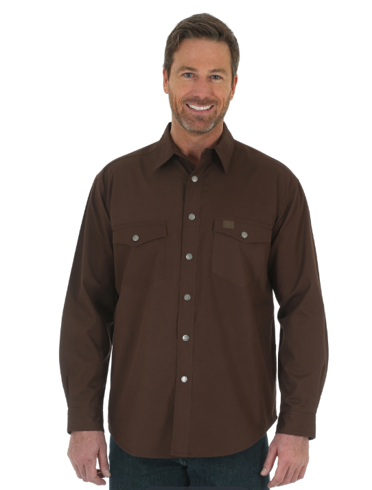 Wrangler RIGGS WORKWEAR® Flannel Lined Ripstop Shirt
